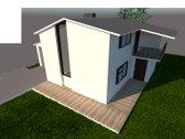 Parduodamas namas su 7,41 arų žemės sklypu