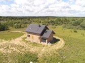 Kompaktiškas, Naujas Namas, Su 12 Arų Sklypų