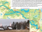 On the shore of the longest lake in Lithuania in the village Jakubishky sells 3 hectares of land and 2 wooden cottage (87 m²  + 82...