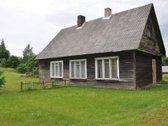 Parduodama puse namo Trakų rajone Jurežerio kaime.
