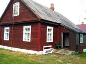 Parduodamas rąstinis namas su 62 arais žemės