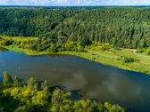 Sklypas ant Neries upes pakrantes su leidimu