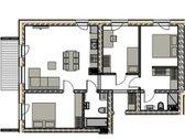4 kambariu butas su 2 san. mazgais (tevų ir