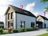 Pradedamas statyti namas su žemės sklypu