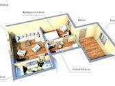 Parduodama namo dalis I - ame aukšte Melnragėje - nuotraukos Nr. 3