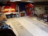 Parduodami du sujungti garažai, pilnai