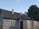 Parduodamas namas - karkasinis su apmūryta