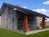 Jakų k. parduodamas nebaigtos statybos namas