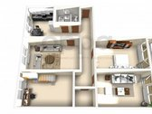 Parduodamas erdvus 4 kambarių butas