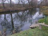 Parduodu sodą ant upes kranto. Sodas yra